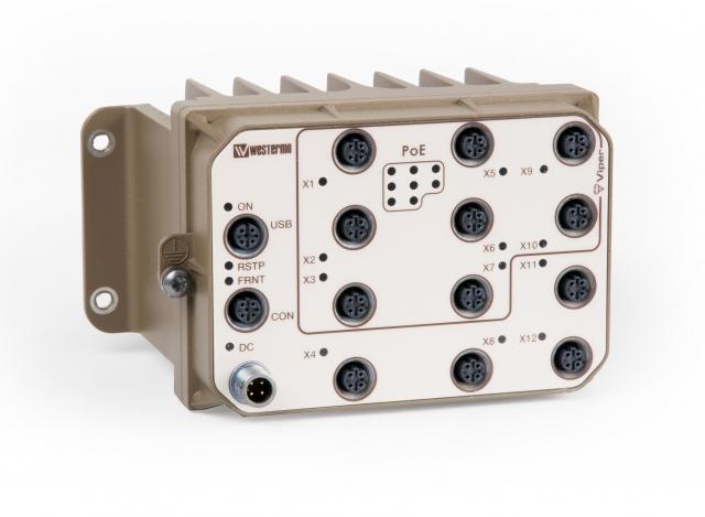 Asien News & Asien Infos & Asien Tipps @ Asien-123.de | Der Rail-Switch Viper-212-P8 von Westermo sorgt für eine sichere zuverlässige Daten-kommunikation auch unter robusten Bedingungen.