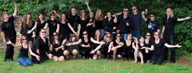 33 junge Sänger auf der Suche nach Sponsoren für ein Benefiz-Konzert: