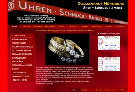 Einkauf-Shopping.de - Shopping Infos & Shopping Tipps | Uhrenshop des Markenuhren Fachgeschäfts Uhren-Schmuck-Antikes T. Thummernicht