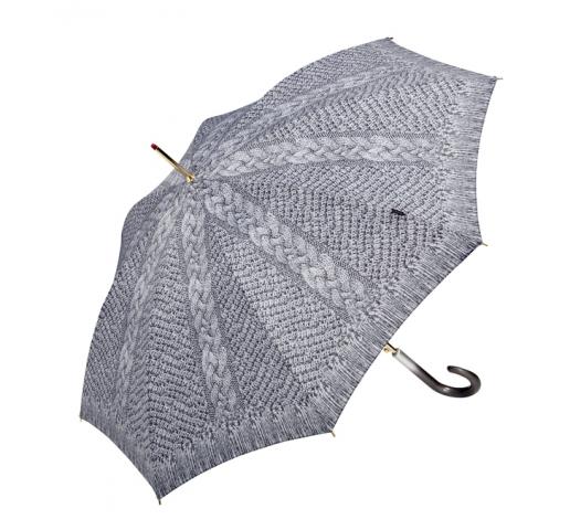 Einkauf-Shopping.de - Shopping Infos & Shopping Tipps | Knit Illusion Stockschirm in Cuddly Gray