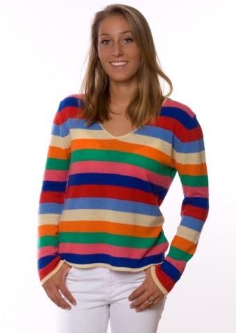 Europa-247.de - Europa Infos & Europa Tipps | Für den Sommer 2013 können sich Frauen auf federleichte Cashmere-Pullis in poppigen Farben freuen