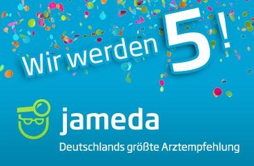 Bayern-24/7.de - Bayern Infos & Bayern Tipps | Jubiläum: jameda feiert fünften Geburtstag