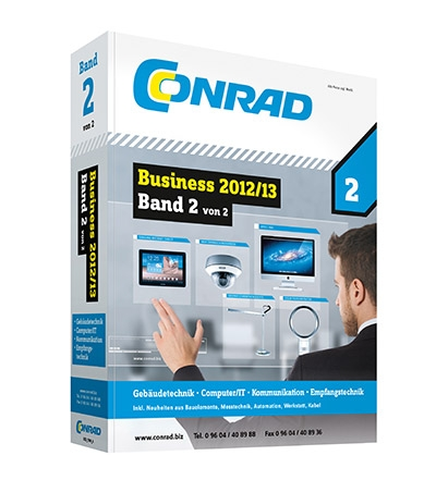 Einkauf-Shopping.de - Shopping Infos & Shopping Tipps | Im neuen Katalog Business 2012/13 Band 2 präsentiert Conrad Electronic einen Teil seines 250.000 Artikel umfassenden Sortiments.