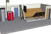Technik-247.de - Technik Infos & Technik Tipps | Der Kombikessel SP Dual lässt sich im Pelletsbetrieb mit unterschiedlichen Lager- und Austragsystemen beschicken.