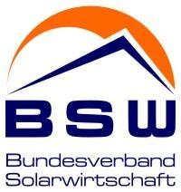 Technik-247.de - Technik Infos & Technik Tipps | Wort-Bildmarke Bundesverband Solarwirtschaft e.V. (Quelle: BSW-Solar)