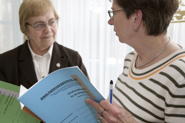 SeniorInnen News & Infos @ Senioren-Page.de | Die Begutachtung durch eine Gutachterin der Heimverzeichnis gGmbH liefert oftmals Impulse für weitere Verbesserungen