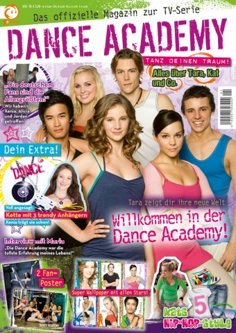 Schauspieler-Info.de | Die Panini Verlags GmbH möchte mit dem neuen Mädchenmagazin Dance Academy Fans der gleichnamigen Fernsehserie begeistern.