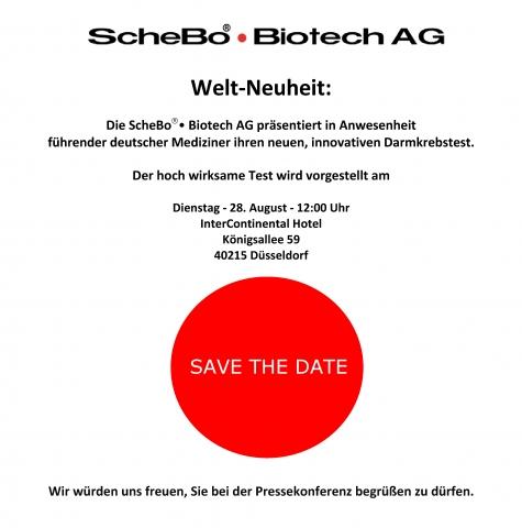 Testberichte News & Testberichte Infos & Testberichte Tipps | Welt-Neuheit: Save-The-Date 28.08.2012 in Düsseldorf