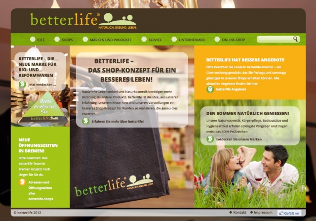 BIO @ Bio-News-Net | Diese Seite lädt zum Stöbern ein: www.betterlife.de