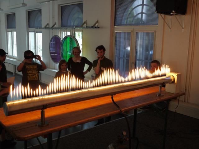 Hamburg-News.NET - Hamburg Infos & Hamburg Tipps | Tanzende Flammen in der EXPERIMINTA