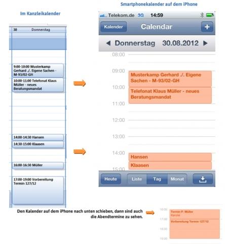 Medien-News.Net - Infos & Tipps rund um Medien | Mit dem Advoware Smartphonekalender gleichen Anwälte und Juristen ihre Kanzleitermine vollautomatisch ab