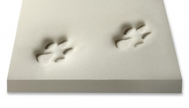 Neue orthopädische Hundematte aus 100% Visko-Schaum