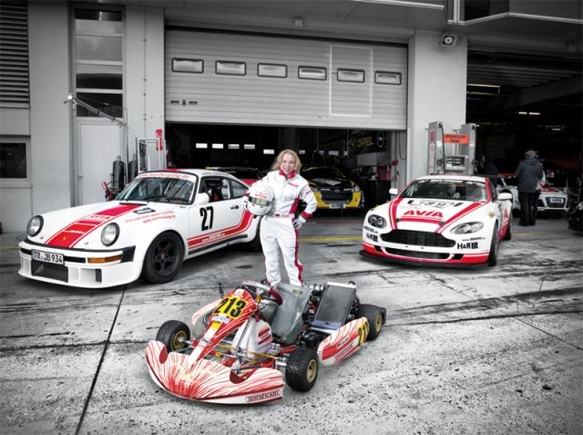 Auto News | Carina Müller - Kart World Championship 2012 - AVIA