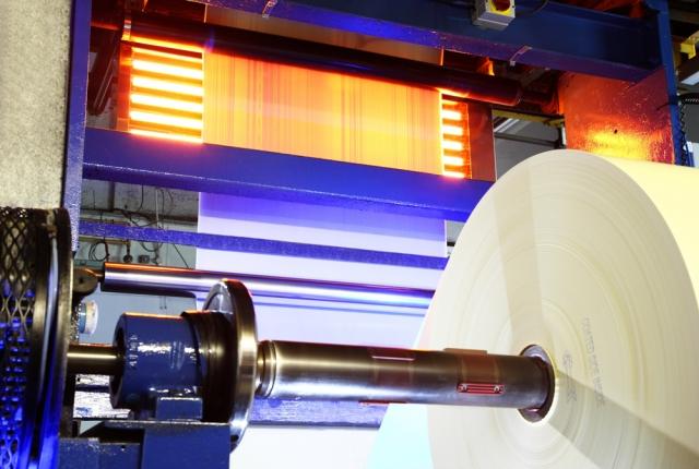 Testberichte News & Testberichte Infos & Testberichte Tipps | Infrarot-Wärme hilft bei der Papierbeschichtung die Produktionsgeschwindigkeit mehr als zu verdoppeln.