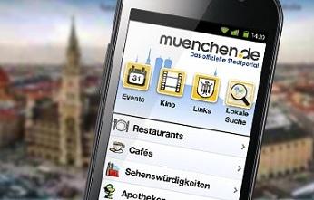 Die neue App von muenchen.de - jetzt auch für Android und mit neuen Funktionen