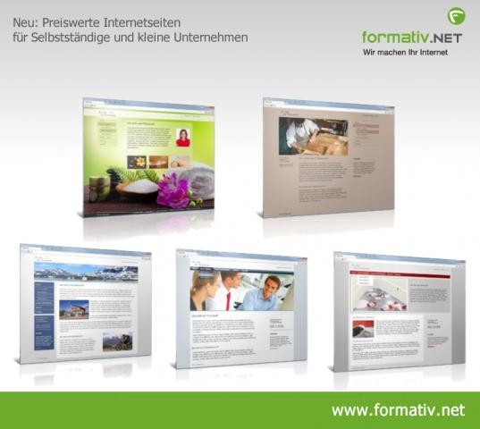Einkauf-Shopping.de - Shopping Infos & Shopping Tipps | Schlanke Internetseiten für kleines Budget: Die Webdesigner von formativ.net, Frankfurt schnüren ein neues Angebot speziell für Selbständige und kleine Unternehmen.