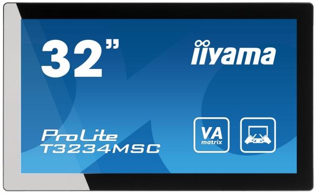 Medien-News.Net - Infos & Tipps rund um Medien | iiyama ProLite T3234MSC - 32-Zoll Full HD-Monitor mit Multitouch Funktionalität