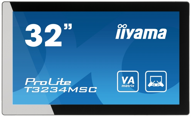 Hardware Infos & Hardware Tipps @ Hardware-News-24/7.de | iiyama ProLite T3234MSC - 32-Zoll Full HD-Monitor mit Multitouch Funktionalität