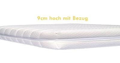 Supersofte 9cm Visko-Matratzenauflage