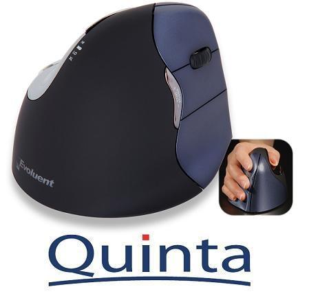Musik & Lifestyle & Unterhaltung @ Mode-und-Music.de | Die EVOLUENT Vertical Mouse 4 Wireless VM4WR mit ergonomischer senkrechter Handstellung bei der Bedienung