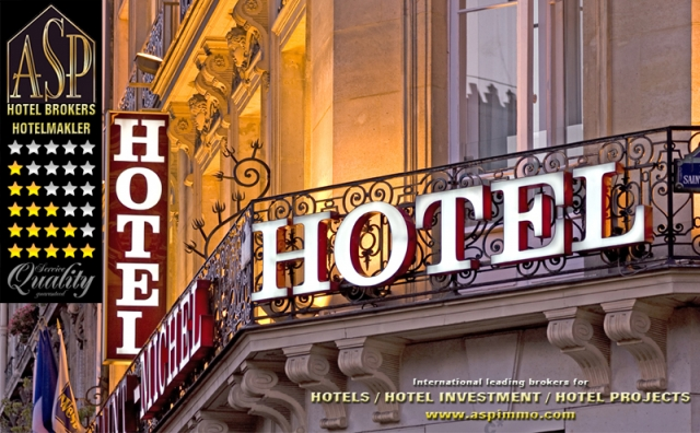 Europa-247.de - Europa Infos & Europa Tipps | Hotelmakler ASP Hotel Brokers bietet aktuell über 500 interessante Hotels zum Kauf an.