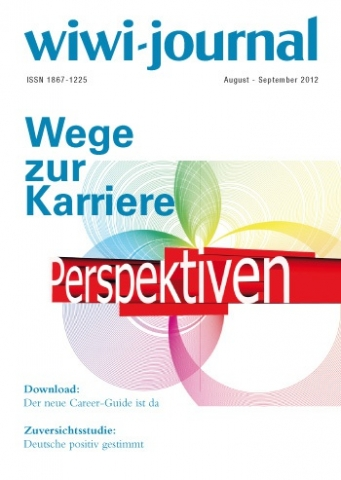 Die Karriereplanung ist das Schwerpunktthema der August-Ausgabe des WiWi-Journals.