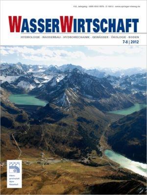 News - Central: Coverabbildung der aktuellen Ausgabe 07-08/2012 der Fachzeitschrift Wasserwirtschaft