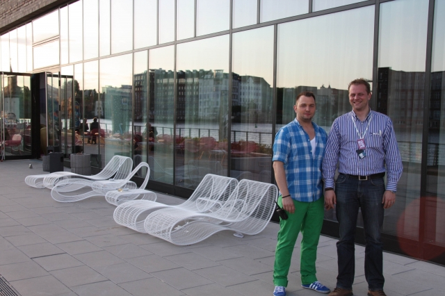 Berlin-News.NET - Berlin Infos & Berlin Tipps | Patrick Jasching und Jürgen Krebs, Geschäftsführer von Stadtprojekt