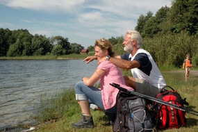 News - Central: Die Seen und Wälder rund um Angermünde sind ein Eldorado für Wanderer.