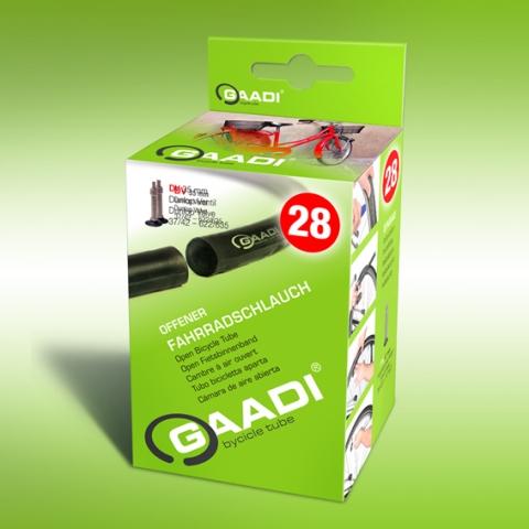 Sport-News-123.de | GAADI Bicycle Tube - der erste Fahrradschlauch mit zwei Enden. Der Schlauch wird auf der EUROBIKE 2012 der Öffentlichkeit vorgestellt. Nick Heidfeld wird zu einer Autogrammstunde am Stand von GAADI anwesend sein.