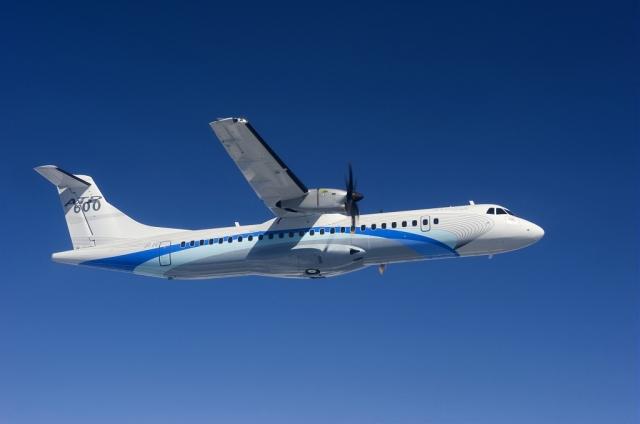 Bayern-24/7.de - Bayern Infos & Bayern Tipps | ATR72-600 in Werksfarben des Herstellers.