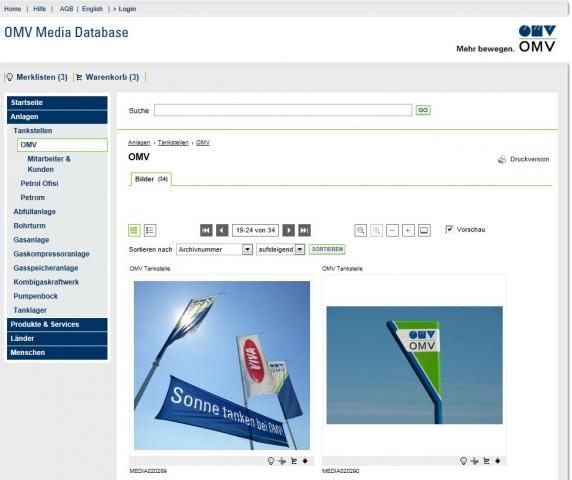 Medien-News.Net - Infos & Tipps rund um Medien | Die OMV Media Database bietet den einfachen und zentralen Zugriff auf Bilder, Videos und Audio-Files