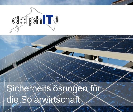 Bayern-24/7.de - Bayern Infos & Bayern Tipps | dolphIT liefert Sicherheitslösungen für die Solarwirtschaft