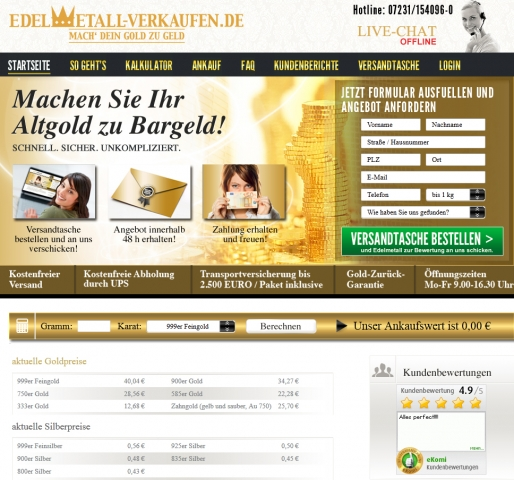 Gold-News-247.de - Gold Infos & Gold Tipps |