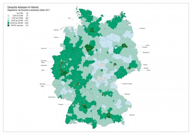 Stuttgart-News.Net - Stuttgart Infos & Stuttgart Tipps | DENIC: 15 Millionen de-domains sind in Deutschland ungleich verteilt