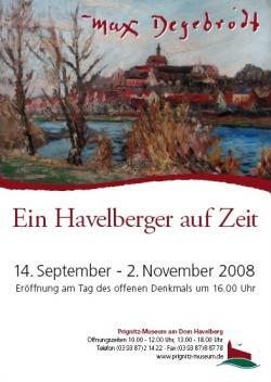 Ost Nachrichten & Osten News | Foto: Eröffnung der Sonderausstellung am 14.9.2008 im Havelberger Prignitz-Museum.