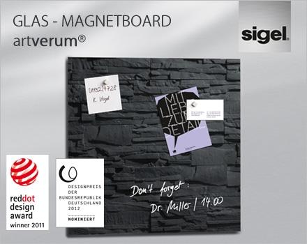 Europa-247.de - Europa Infos & Europa Tipps | Glas-Magnetboard artverum von Sigel