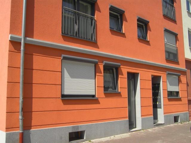 News - Central: Beispiel einer Wohnung von außen.