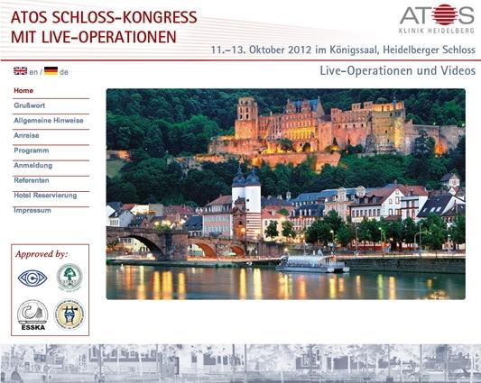 Niedersachsen-Infos.de - Niedersachsen Infos & Niedersachsen Tipps | 3. Heidelberger Schloss-Kongress Oktober 2012