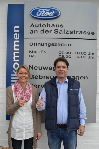 Auto News | Nicole Roeder  leitet zukünftig  gemeinsam mit Christian Timmann die Geschicke der  Autohaus an der Salzstraße GmbH.