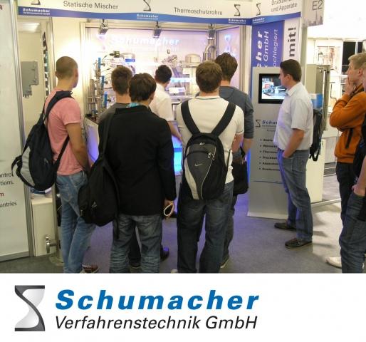 Technik-247.de - Technik Infos & Technik Tipps | Schumacher Verfahrenstechnik GmbH auf der ACHEMA 2012