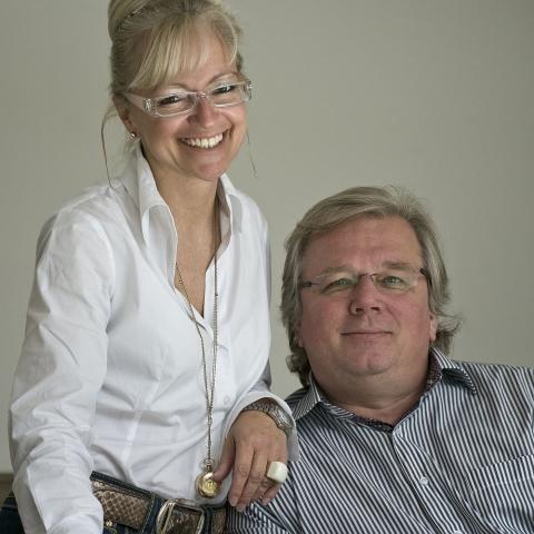 Hotel Infos & Hotel News @ Hotel-Info-24/7.de | Corinna Kretschmar-Joehnk und Peter Joehnk, Inhaber des international renommierten Innenarchitektenbüros JOI-Design