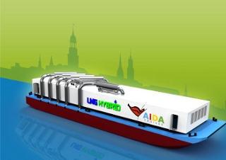 Hamburg-News.NET - Hamburg Infos & Hamburg Tipps | Umweltfreundliche LNG Hybrid Barge für Kreuzfahrtschiffe