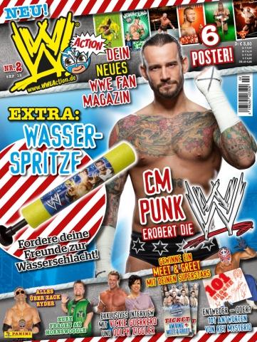 Stuttgart-News.Net - Stuttgart Infos & Stuttgart Tipps | Das Panini-Fanmagazin WWE Action erscheint am 16. August zum SummerSlam. Bildquelle: Panini