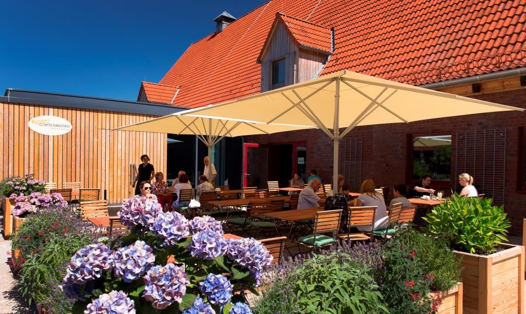 Hotel Infos & Hotel News @ Hotel-Info-24/7.de | Baseler Hof Kleinhuis' Gartenbistro auf Gut Karlshöhe