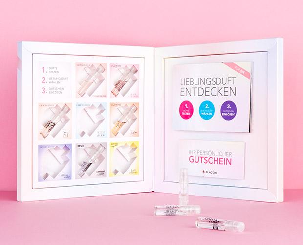 Gutscheine-247.de - Infos & Tipps rund um Gutscheine | Flaconi Probenbox