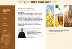 Bier-Homepage.de - Rund um's Thema Bier: Biere, Hopfen, Reinheitsgebot, Brauereien. | Bier-Homepage - Biere, Hopfen, Reinheitsgebot, Brauereien. Foto: Screenschot www.biervonhier.net.