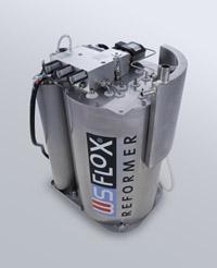 Alternative & Erneuerbare Energien News: Foto: FLOX® Fuel Processing Modul für Brennstoffzellensysteme im Leistungsbereich 1-2 kW.