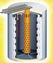 Alternative & Erneuerbare Energien News: Foto: Der SUN SAVE Individualspeicher - Größe und Form nach Bedarf gebaut.