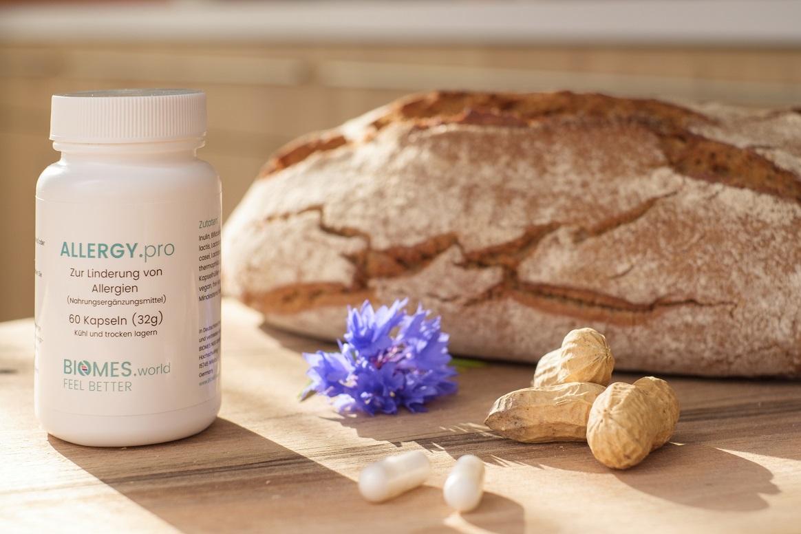 Freie Pressemitteilungen | ALLERGY.pro - Probiotisches Nahrungsergänzungsmittel von Biomes